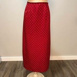 Vintage Kathie Lee Maxi Skirt